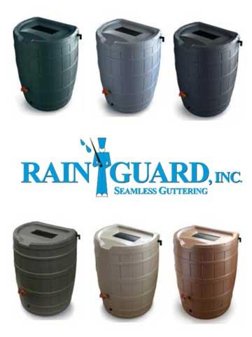 Gutter Rain Barrels Rain Guard Inc