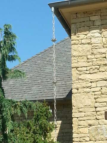Rain Chains For Gutters Rain Guard Inc