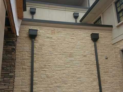 Collector Heads For Gutters Rain Guard Inc